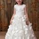 Glorious A-line Jewel Sleeveless Floor-length Flower Girl Dress