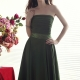 A-line Empire Strapeless Knee-length Nadya's Prom Dress