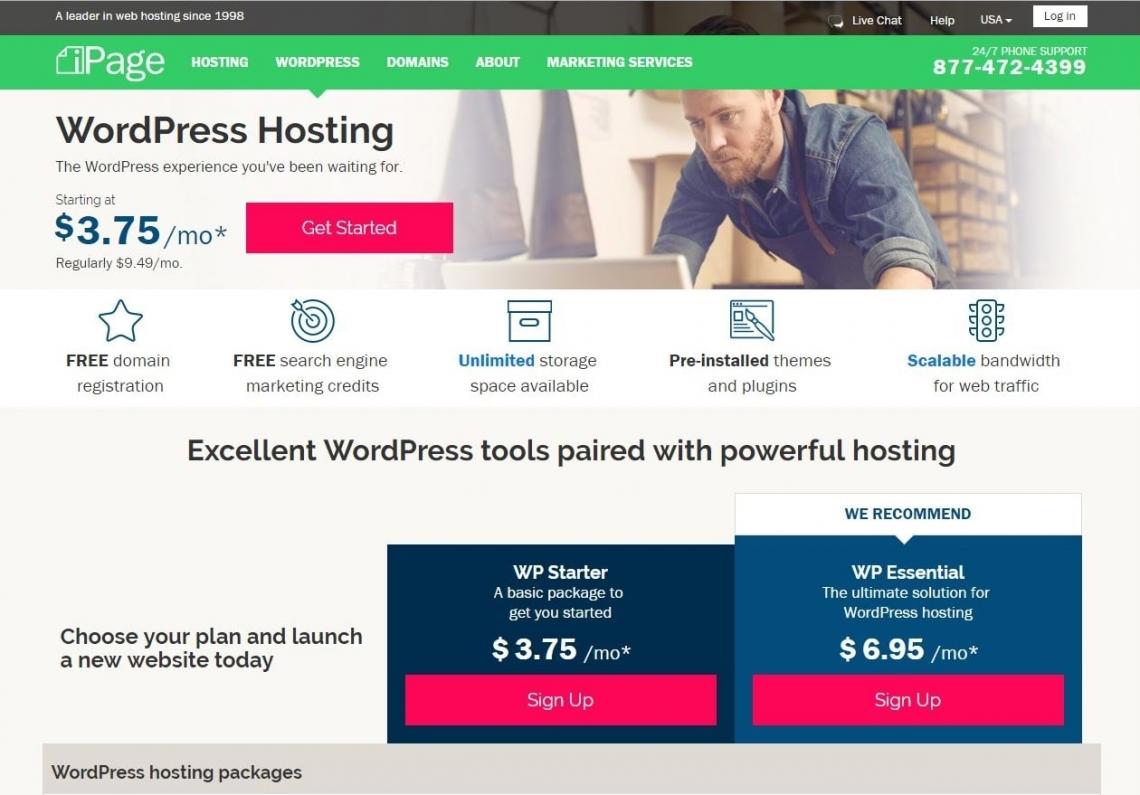 Wordpress Starter Plan - WordPress Hosting