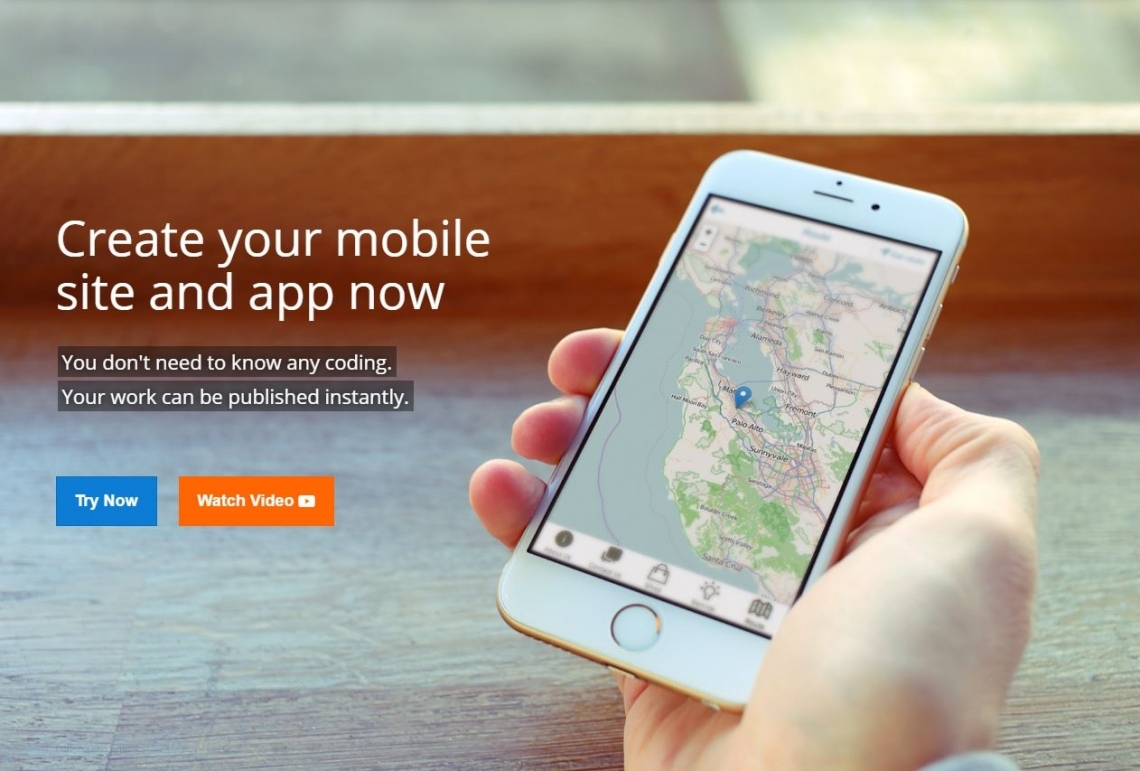 Create your mobile site and app now